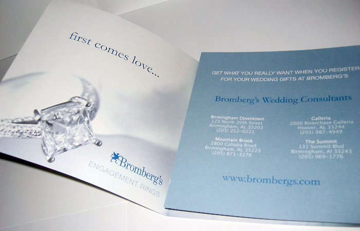 BROMBERG'S WEDDING BROCHURE