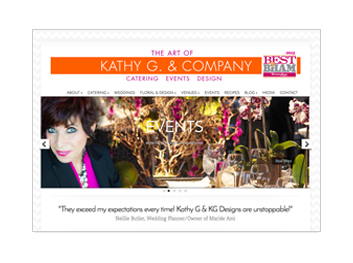 KATHY G. & COMPANY WEBSITE